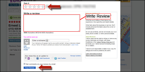 Publish Yahoo Review